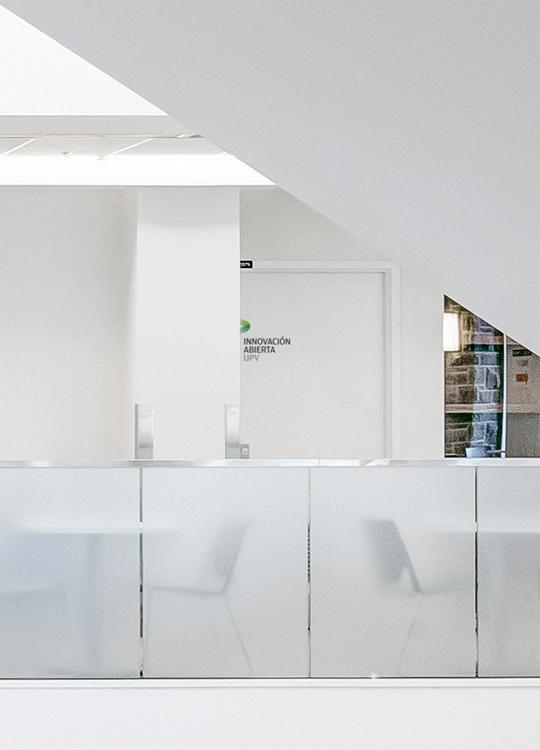 Fase, estudio de diseño gráfico. Identidad corporativa de Innovación Abierta, Universitat Politècnica de València.