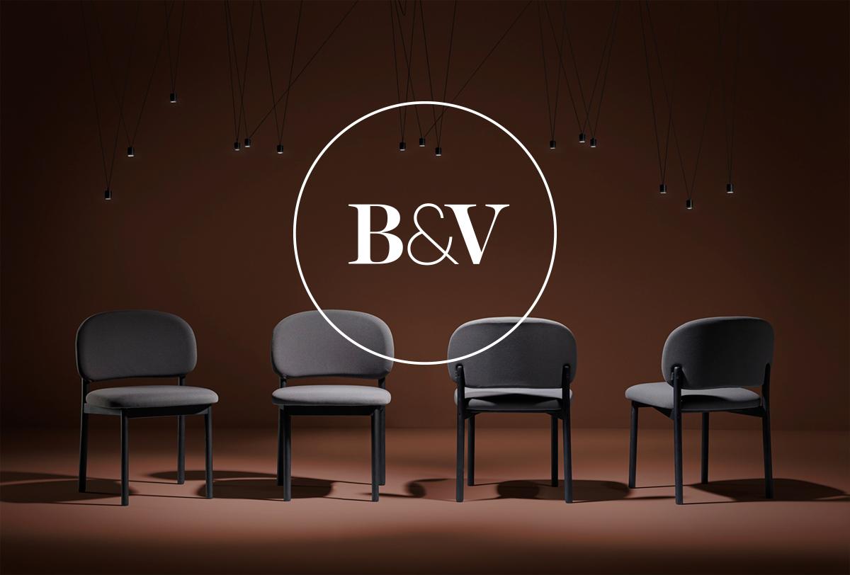 Fase, estudio de diseño gráfico. Identidad corporativa Blasco y Vila. Símbolo sobre imagen de producto.