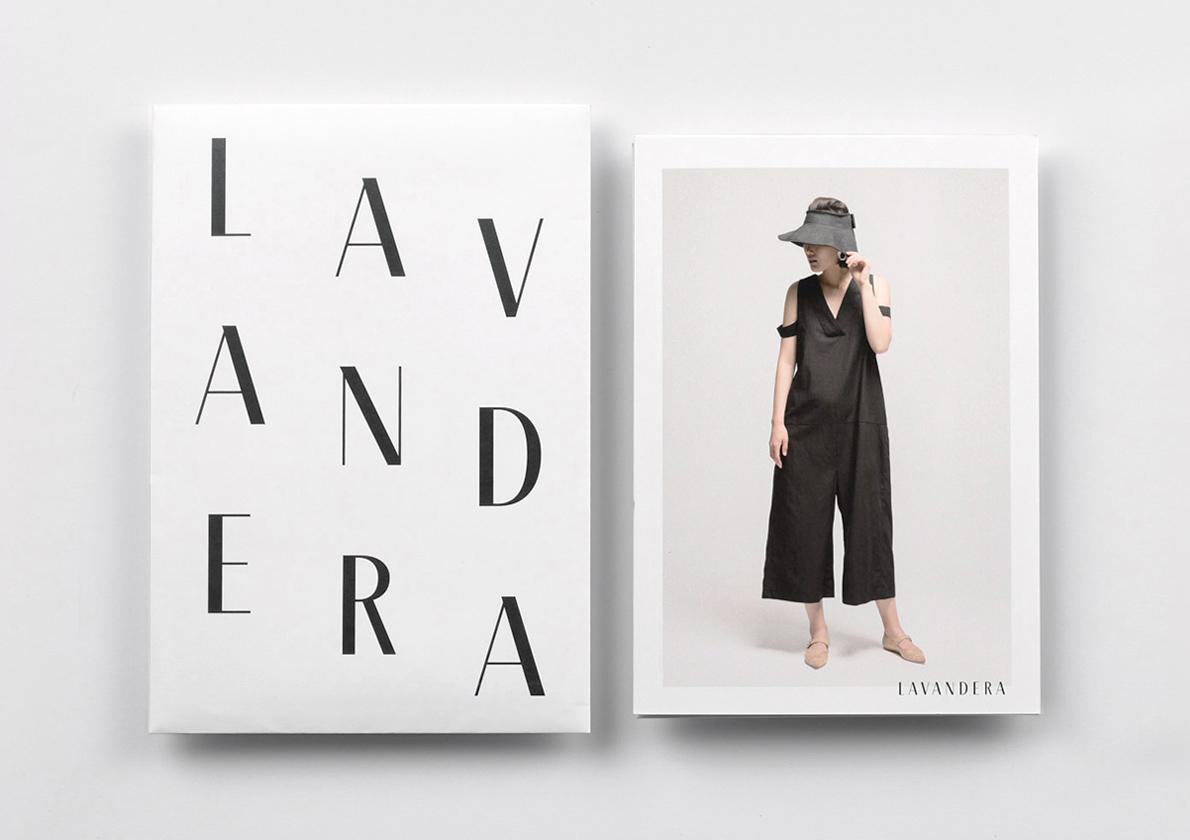 Fase, estudio de diseño gráfico. Identidad corporativa Lavandera, a brand for collectors. Thumbnail.