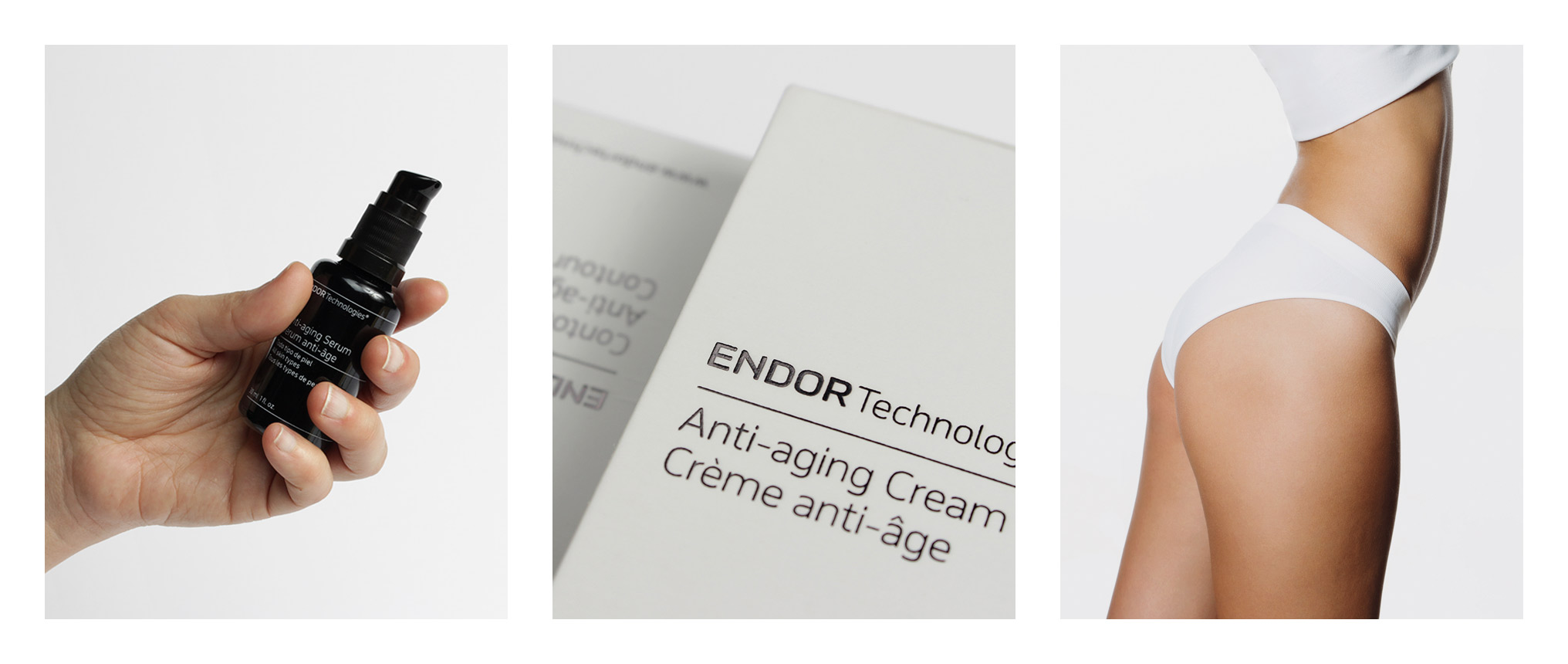 Fase, estudio de diseño gráfico. Identidad corporativa y diseño de packaging para Endor Technologies. Detalles.