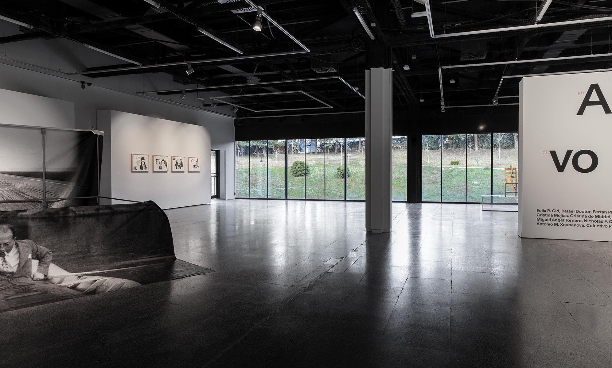 Fase, estudio de diseño gráfico. Identidad exposición de arte Archivo Rastro. Exposición.